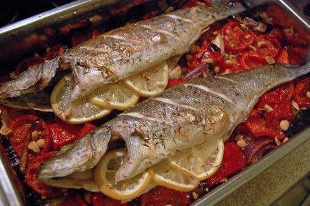 Tutte le ricette con il branzino pi facili e gustose buttalapasta - Cucinare lo sgombro al forno ...