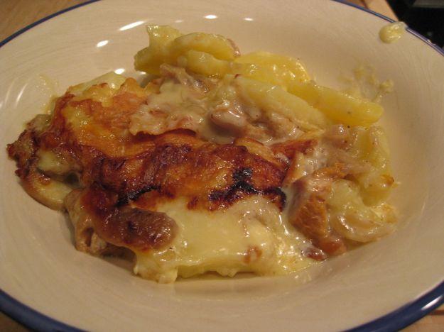 ricetta carnevale tartiflette cucina francese