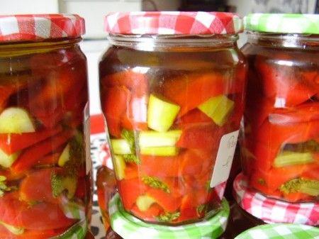 ricetta conserva peperoni