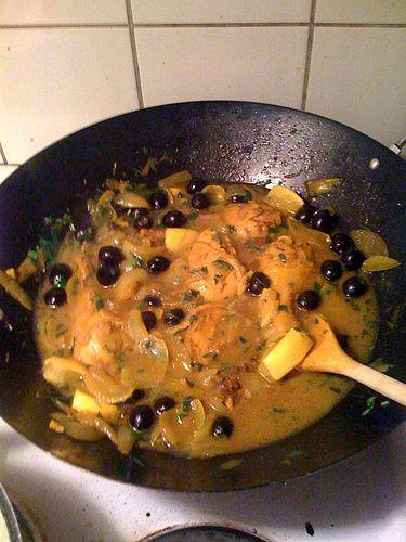 ricetta pollo olive