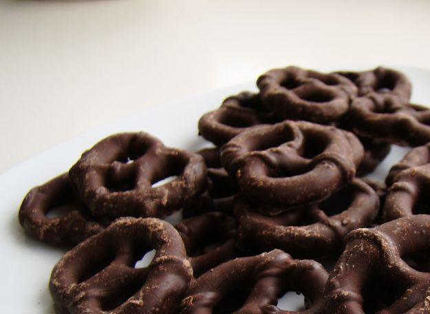 ricetta pretzel cioccolato