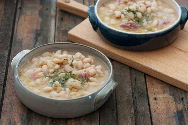ricetta zuppa legumi