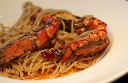 ricette gamberoni pasta