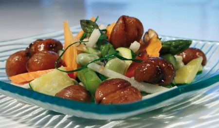 ricette salate castagne