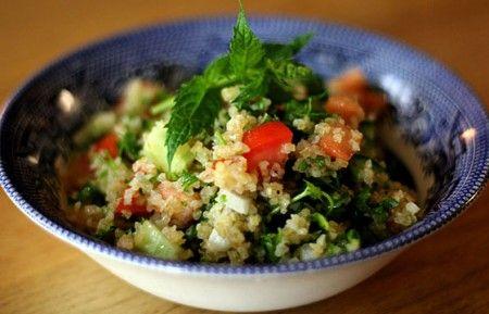La ricetta del taboulè, il cous cous freddo tradizionale