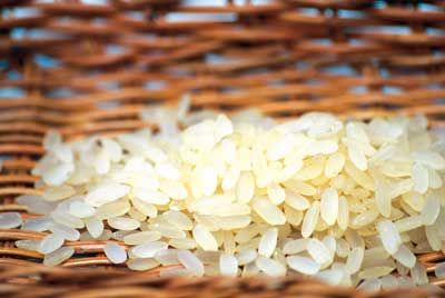 Scegliere il riso per l'insalata