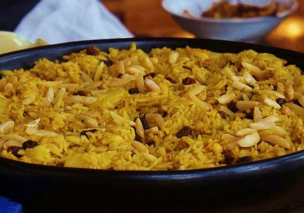 riso pilaf del sultano