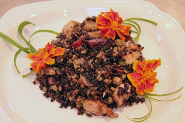 riso venere e pollo tandoori 2