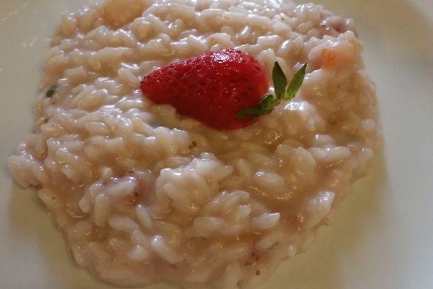 risotto alle fragole ricetta