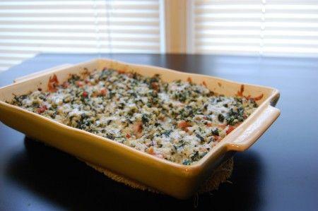 risotto spinaci gorgonzola
