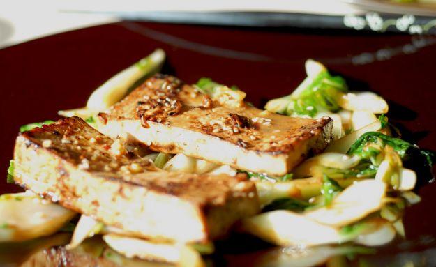 scaloppine di tofu