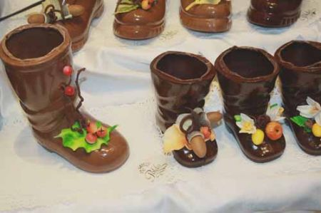 scarpette di cioccolato