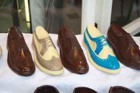scarpette della Befana di cioccolato
