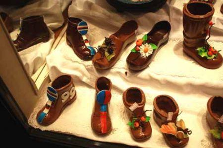 scarpette di cioccolato sportive