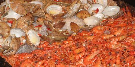 Fideau ai frutti di mare