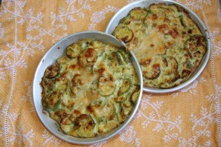 Le ricette di timballi e sformati di zucchine al forno
