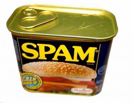 scatoletta di spam