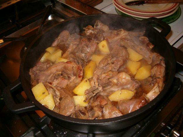 spezzatino di agnello con patate