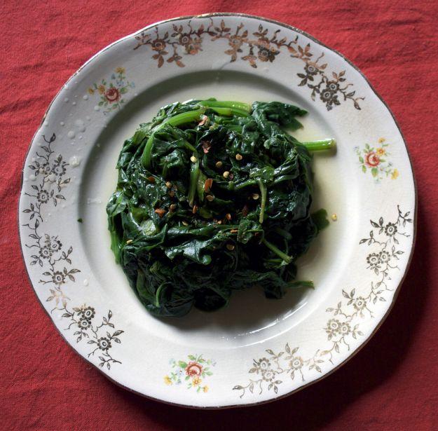 spinaci al burro