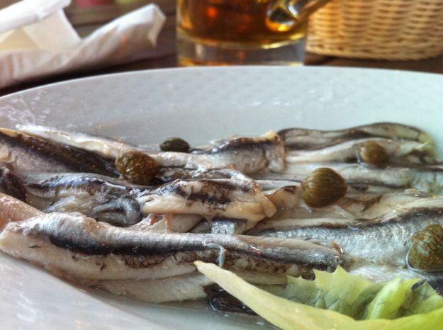 sushi di acciughe all'italiana 2