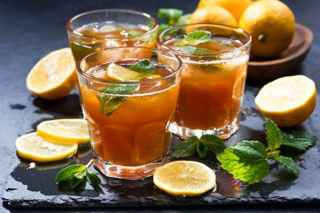 Tè freddo alla vodka