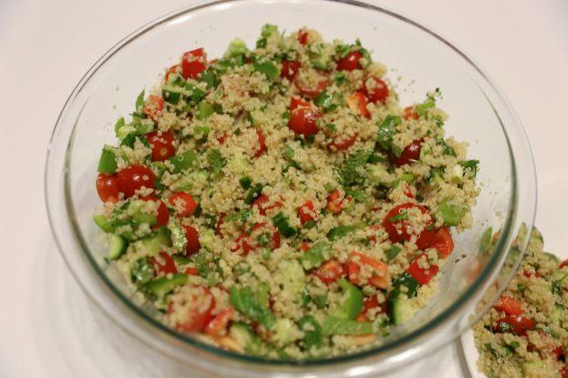 Taboulé di quinoa