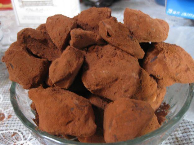 tartufi cioccolato grand marnier