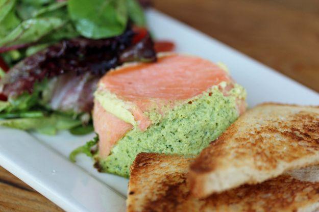timballini salmone e zucchine