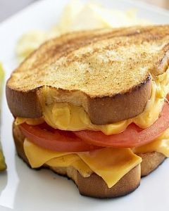Toast prosciutto e formaggio