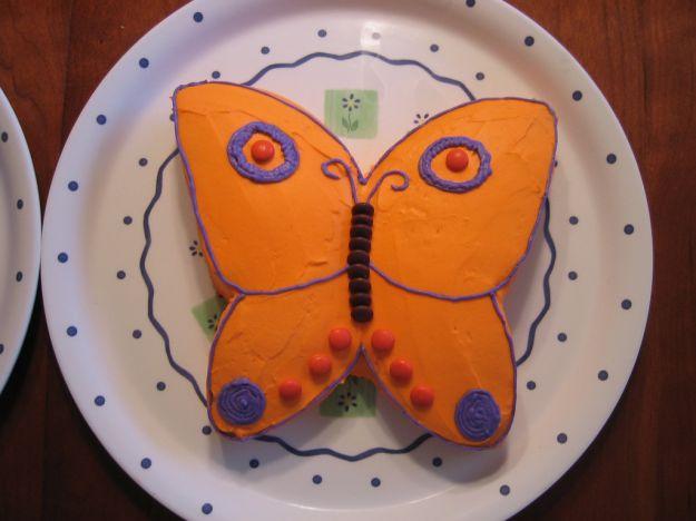 torta a farfalla