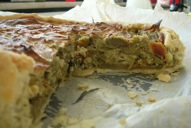 torta ai carciofi