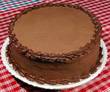 torta al cioccolato fuso