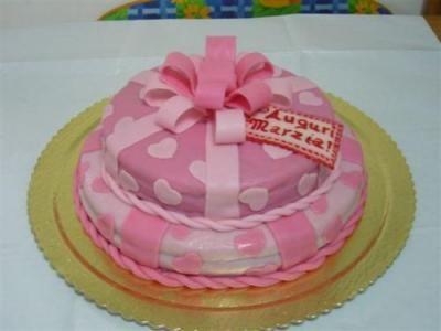 torta decorata marzapane