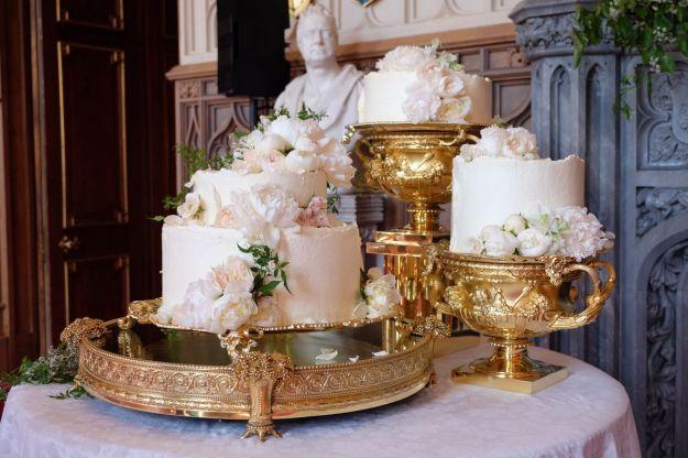 La torta del royal wedding del principe Harry e Meghan Markle