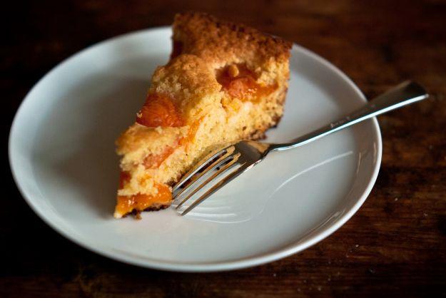 torta di albicocche e ricotta