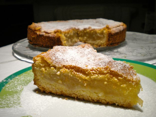 torta di mele a strati