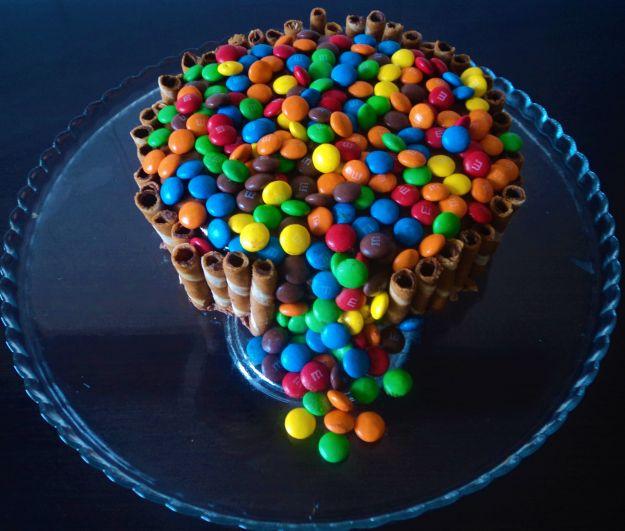 torta m&ms