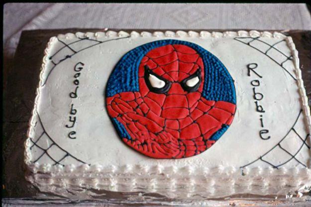 torta spiderman 35
