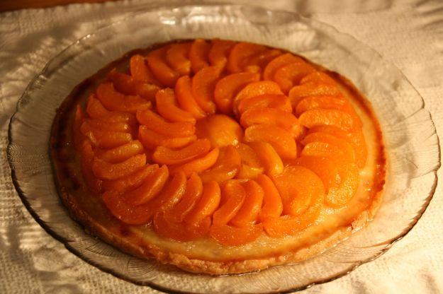 torta tatin di albicocche