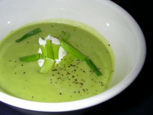 vellutata di avocado