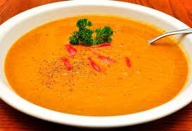 Vellutata di carote all'aceto balsamico