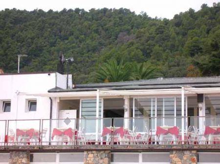 ristorante vittoria: la veranda sul mare