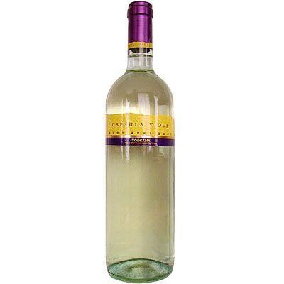 vino bianco capsula viola