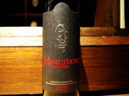vino rosso cannonau di sardegna