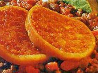 Zampone con lenticchie e salsa di mele