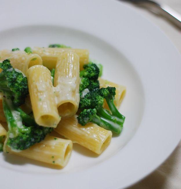 ziti con broccoli