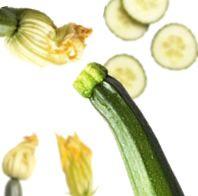 Sfogliatina di zucchine con feta e carpaccio