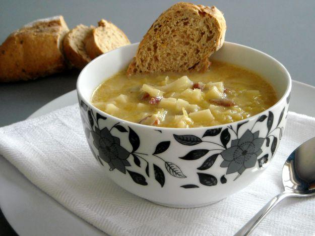 zuppa di verze con la provola