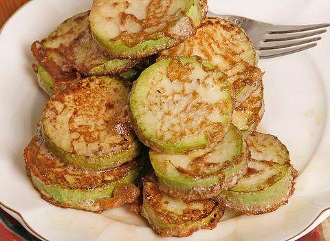 Cucinare le zucchine: fritte