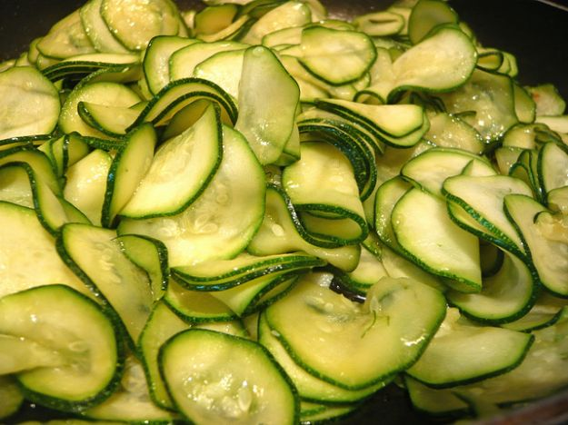 Le zucchine crude
